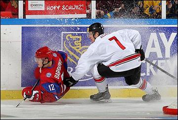 28 декабря 2013 года. Мальмё. Молодежный чемпионат мира. Групповой этап. Россия — Швейцария — 7:1