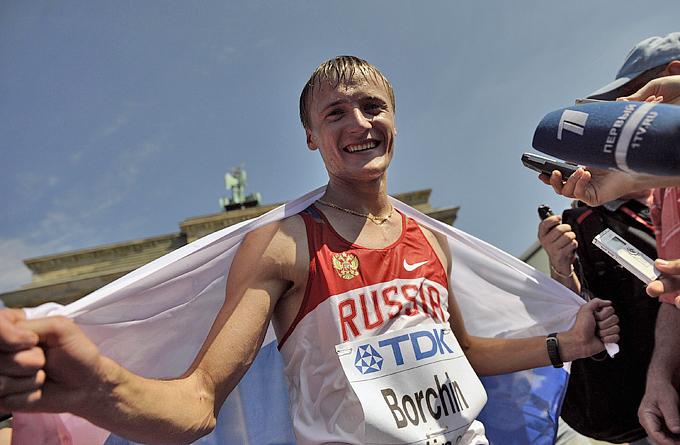 Лондон-2012. Лёгкая атлетика. Валерий Борчин