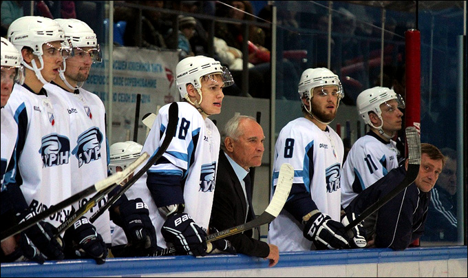 Виктор Семыкин и его команда