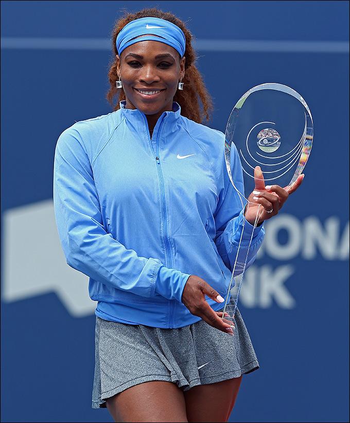Серена Уильямс завоевала восьмой титул за год