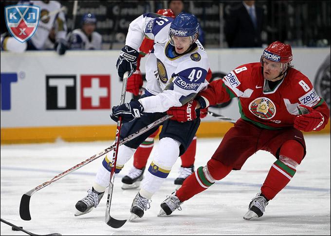 Александр Шин в сборной Казахстана