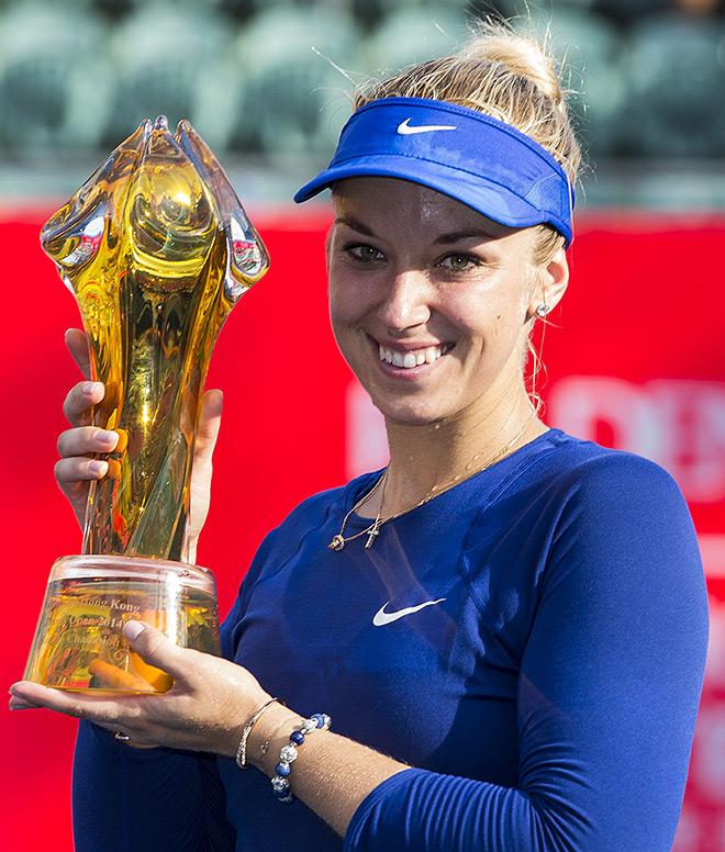 Лисицки стала чемпионкой Гонконга