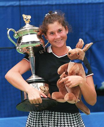 Моника Селеш выиграла Australian Open три раза подряд