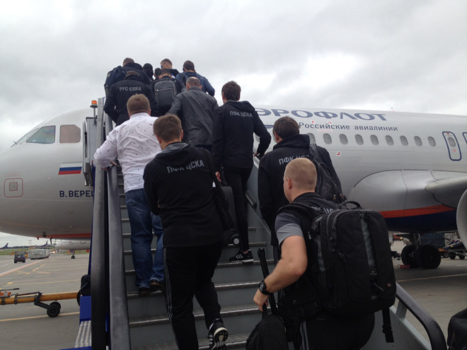 ЦСКА отправляется в Германию