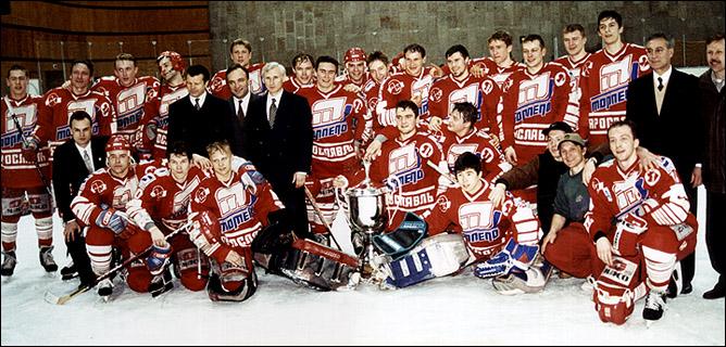 "Дмитрий Красоткин и ""Торпедо"", чемпионский 1997 год"