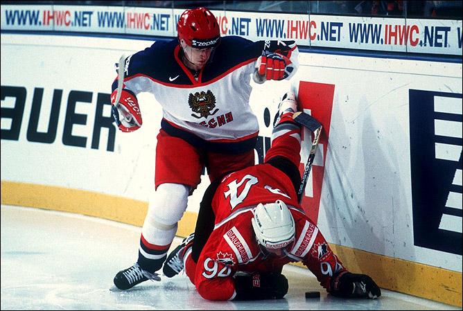 Дмитрий Красоткин на чемпионате мира 2001 года.
