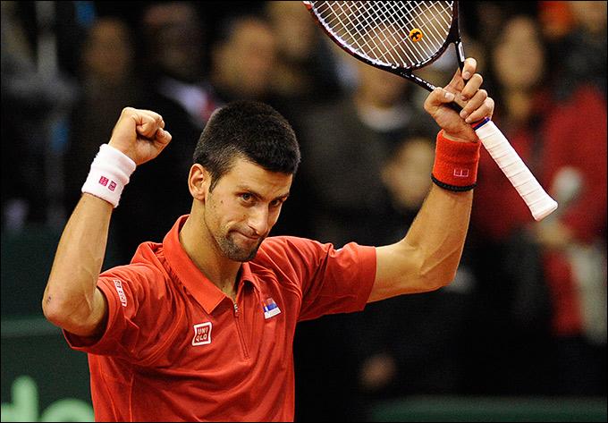 Новак Джокович помог сборной Сербии выйти в четвертьфинал