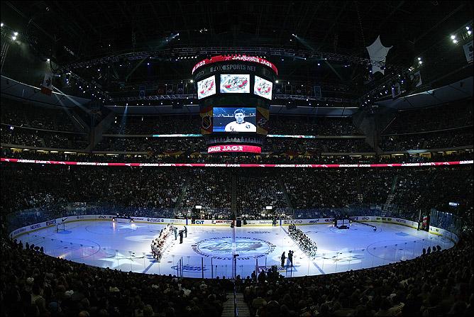 54-й Матч всех звёзд НХЛ прошёл в Миннесоте