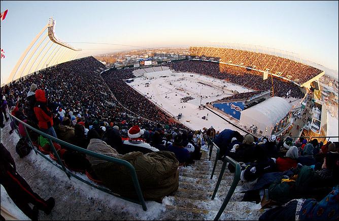 """Первая """"Зимняя классика"""" в истории НХЛ прошла в Эдмонтоне"""