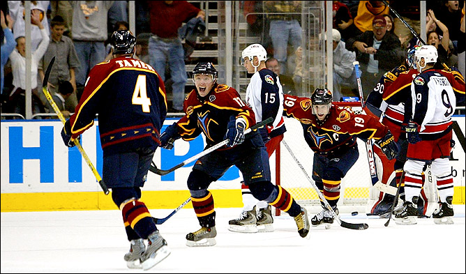По итогам сезона Илья Ковальчук стал лучшим снайпером регулярного чемпионата и впервые попал в сборную Всех Звезд НХЛ