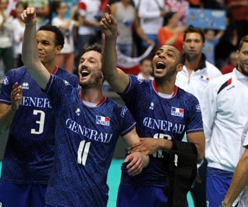 Французы празднуют победу над поляками