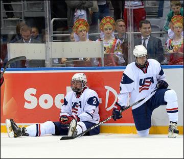 Американцы проиграли первый юниорский чемпионат за пять лет