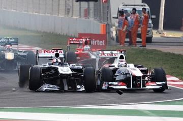 Сезон-2011 получился для Баррикелло неудачным