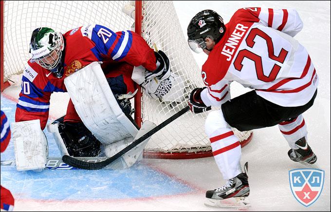 Андрей Макаров против сборной Канады