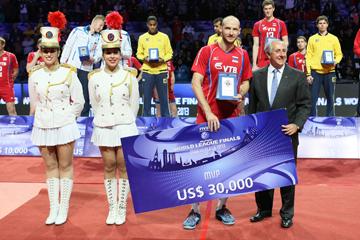 Николай Павлов — самый ценный игрок турнира
