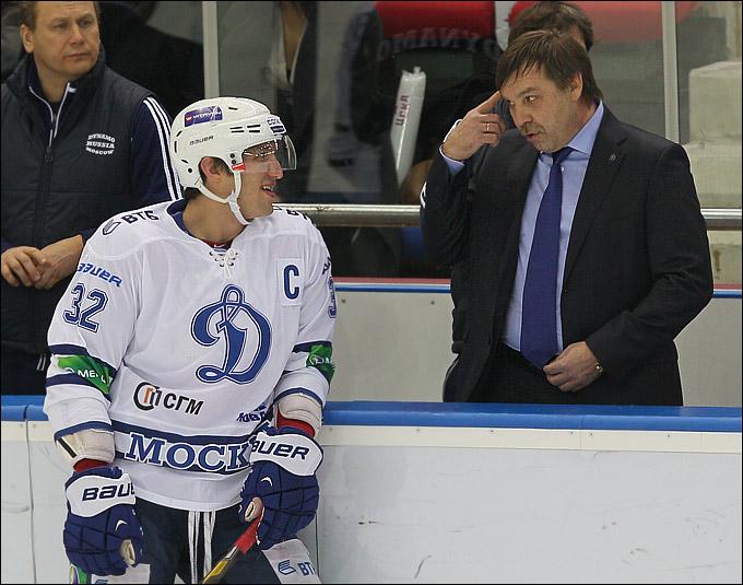 Александр Овечкин и Олег Знарок