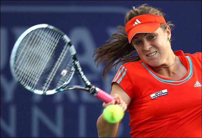 Анастасия выиграла Чарльстон в паре с Люси Шафаржовой