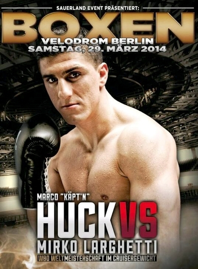 Постер к бою Хук — Ларгетти