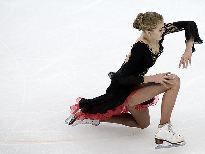 Окровавленные колени Александры Степановой стали одним из главных впечатлений первой части чемпионата