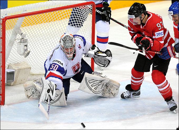 17 мая 2012 года. Хельсинки. Чемпионат мира. Четвертьфинал. Канада — Словакия — 3:4