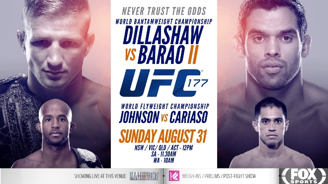 Постер к турниру UFC 177