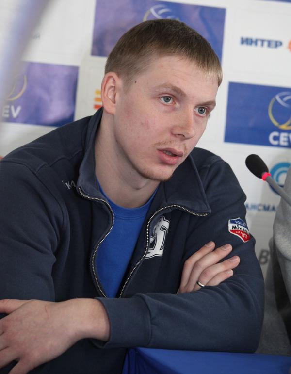 "Капитан ""Динамо"" Сергей Гранкин"