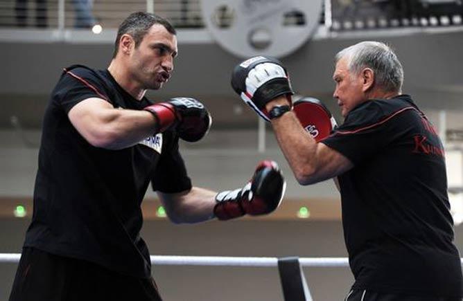Вчера, 15 февраля, Виталий провёл открытую тренировку в Мюнхене