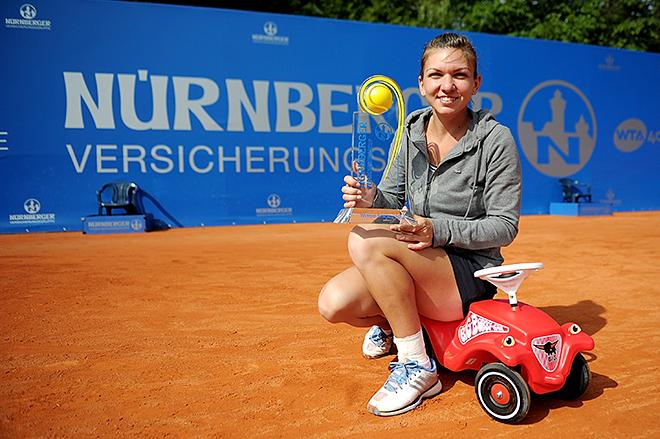 Симона Халеп в прошлом году победила на турнире в Нюрнберге