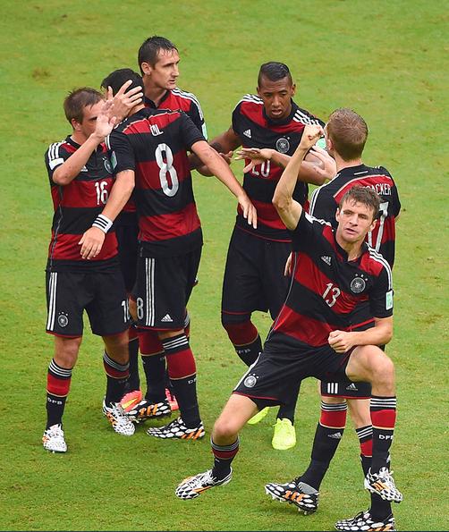 Новая форма сборной Германии