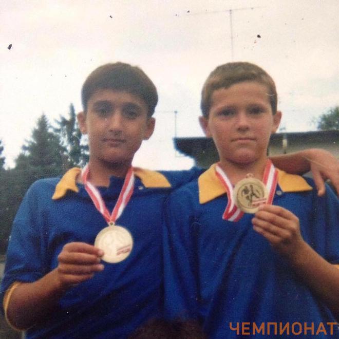 Александр Самедов (слева)