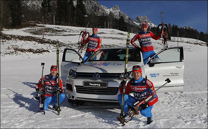 Volkswagen — официальный партнер Союза биатлонистов России