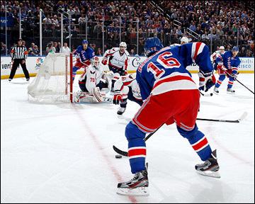 """8 мая 2013 года. Нью-Йорк. Плей-офф НХЛ. 1/8 финала. Матч № 4. """"Рейнджерс"""" — """"Вашингтон"""" — 4:3"""