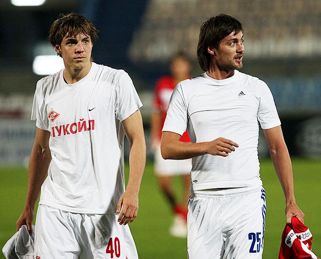 Артём Дзюба и Артём Милевский
