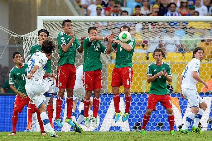 Кубок конфедераций. Мексика — Италия — 1:2. Гол Андреа Пирло