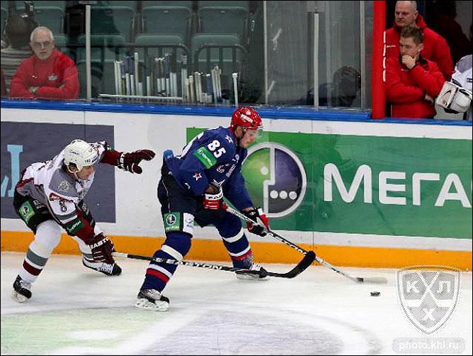 22.10.2010. КХЛ. СКА - Динамо Р - 5:3. Фото 02.