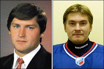 Сергей Мыльников-старший и Сергей Мыльников-младший