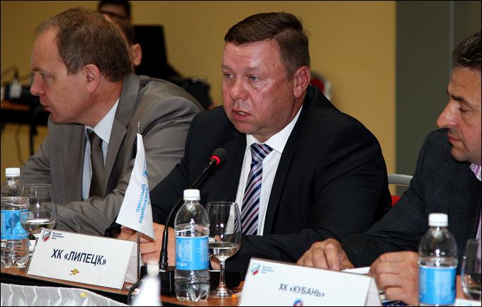 Владимир Тучков рассказывает о хоккейных перспективах Липецка
