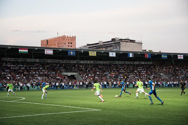 Финальная игра между сборными Абхазии и сборной Пенджаба