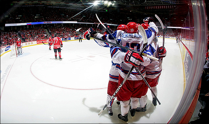 3 января 2012 года. Калгари. Молодежный чемпионат мира. 1/2 финала. Канада — Россия — 5:6