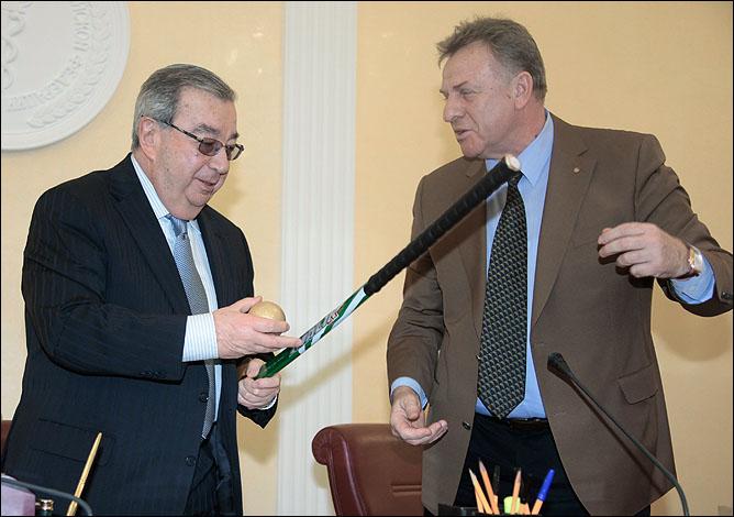 Сергей Чеченков (справа) и Евгений Примаков