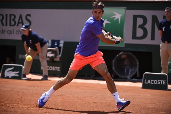 Роджер Федерер выиграл 64-й матч на «Ролан Гаррос»