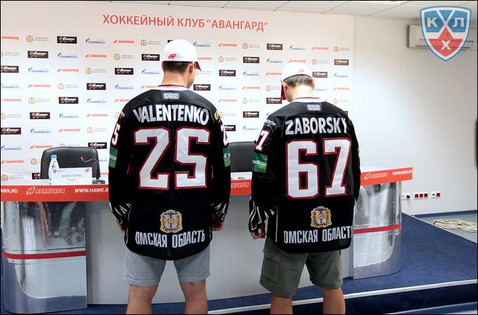 Павел Валентенко и Томаш Заборски