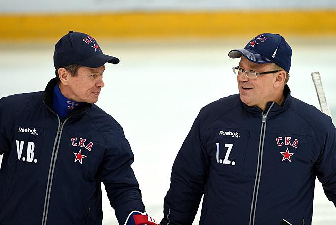 Вячеслав Быков и Игорь Захаркин