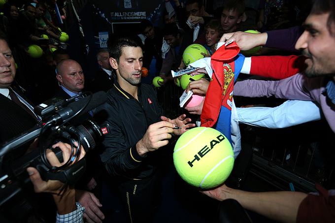 Джокович стал девятым теннисистом, выигравшим Итоговый турнир года в ранге первой ракетки мира