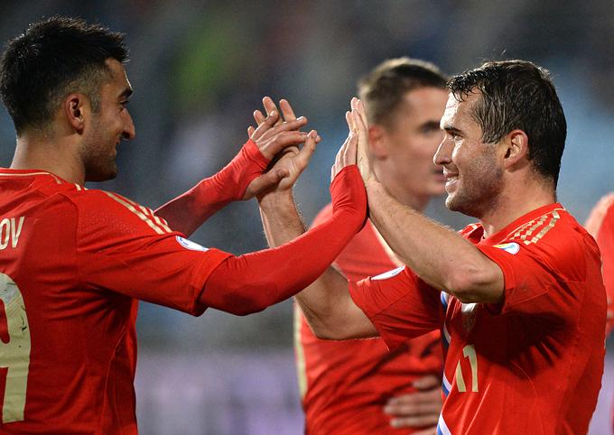 Самедов и Кержаков: в нынешней сборной России царит дружба