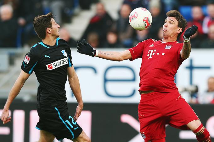 """""""Хоффенхайм"""" — """"Бавария"""" — 0:1 (0:1)"""