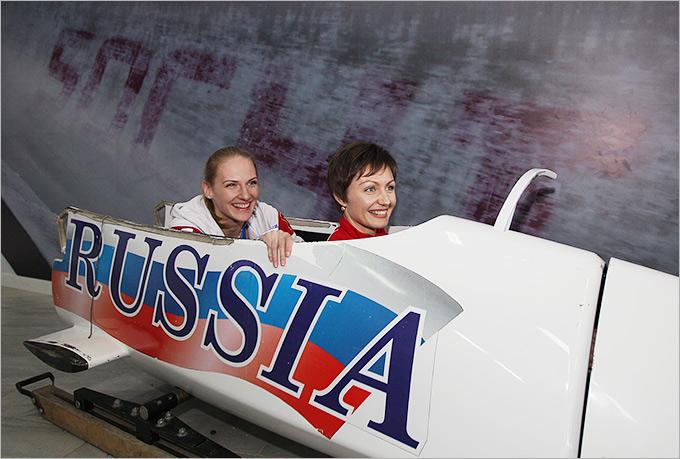 Анастасия Давыдова и Светлана Ромашина
