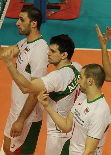 Лидеры сборной Болгарии: Цветан Соколов, Тодор Алексиев и Георги Братоев