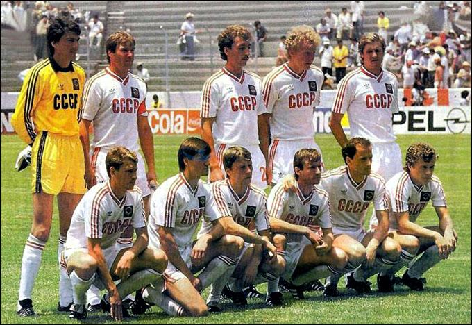 2 июня 1986 года. Ирапуато. Чемпионат мира. СССР — Венгрия — 6:0. Сборная СССР