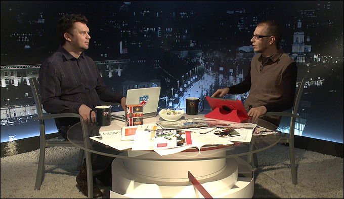 """Дмитрий Нестеров и Роман Чернявский в программе """"Трибуна"""""""